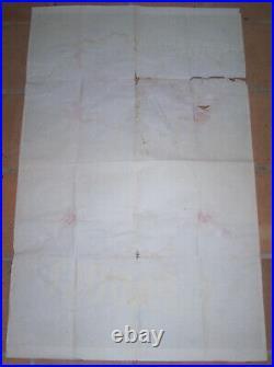 AFFICHE ART DECO Cie NAVIGATION PAQUET SENEGAL CANARIES FRANCE ROGER PEROT 1933