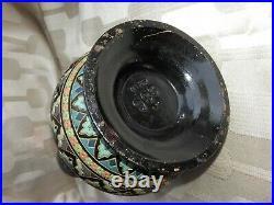 ART DECO antique VASE Wilhelm SCHILLER keramik jugendstil Persian style Bohême