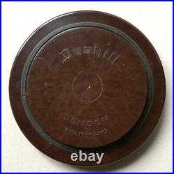 Alfred Dunhill Pot-à-tabac en bakélite art-déco circa 1930