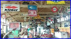 Ancien BRASIER EN FONTE CORNEAU ALFRED ART DECO, cheminée, âtre, no émaillée