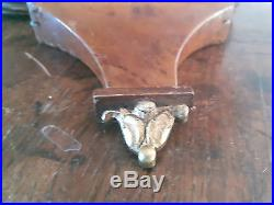 Ancien Barometre Thermometre Annees 30 Art Deco Monture Bronze