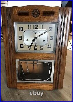 Ancien CARILLON ODO pendule art deco N101 en bon état antic clock collection
