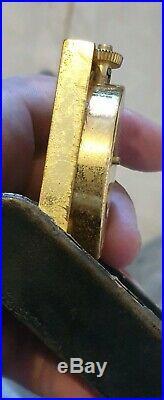 Ancien Exceptionnel Très Rare Réveil Annee 60 Jaeger Lecoultre Pour Dunhill