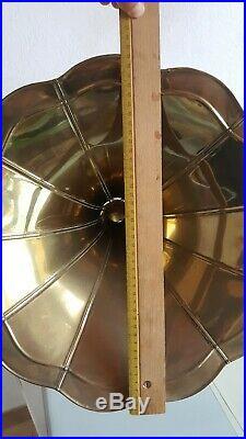 Ancien Gramophone THORENS fabrication Suisse + 20 Disques Fonctionne art déco