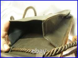 Ancien Sac A Main Minaudière Pochette Soirée Bakélite Ambre Art Deco Bag