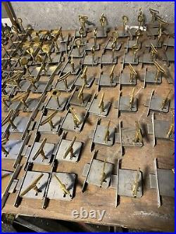 Ancien Stock Lot 244 Serrure Clefs Clés Keys Lock ART DECO porte armoire, meuble