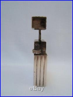 Ancien briquet art déco CARTIER en argent vers 1930-1940