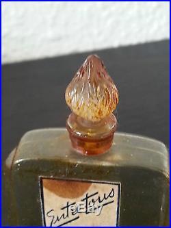 Ancien petit flacon à parfum entre tous de ROBJ, art déco, old perfume bottle