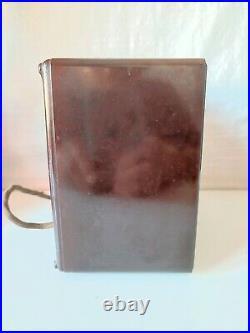 Ancien poste TSF à lampes en bakélite Art-Déco 1934 EMERSON Miracle six Mdl 19