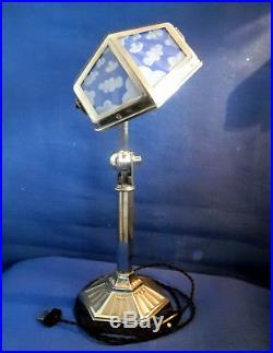 Rare Verre Modèle Ancienne De Lampe A Nuagé Pirouett Collection wPiuZOkTX