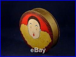 Ancienne boite carton clown Pierrot Tornier et Lenoir Ed PARIS 1920 Art Déco