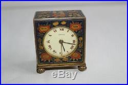 Ancienne pendulette Art Déco émaillée ZENITH