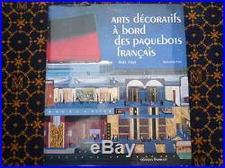 Arts Decoratifs A Bord Des Paquebots Francais-vian-paquebot Normandie