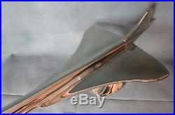 Avion Concorde en alu de 61 cm