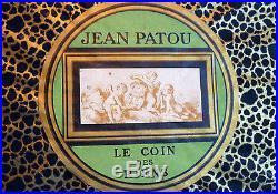 BOITE ANCIENNE JEAN PATOU LE COIN DES RIENS vers 1924, Haute couture Art-Déco