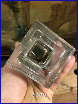 Baccarat Flacon de Parfum 1930 Art Deco Luxe