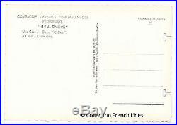 Baptistin SPADE Fauteuils bridge du paquebot ILE DE FRANCE Ocean liner
