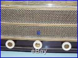 Belle Radio Bakelite Radiola Type Ra 30a Ancienne Collection 1951 Art Deco Tsf