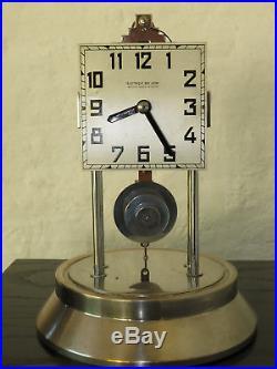 Belle pendule electrique 800 jours Art Déco Bulle Clock collection (no Ato)