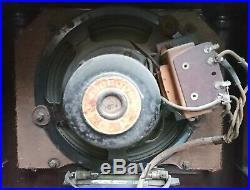 Belle radio TSF art déco Monopole C157 des années 1936 en bakélite