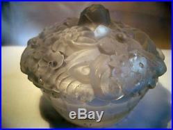 Boite A Poudre Permaton Art-deco 1930 Vintage Powder Box