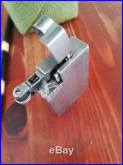 Briquet aluminium FLEX essence art déco