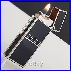 Briquet gaz DUNHILL Rollagas art déco Lighter-Feuerzeug-Accendino-Rare