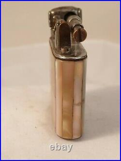 Briquet nacre ancien art deco Dupont Dunhill evance Cartier