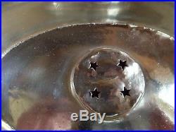 CGT Normandie 1935 Cloche de 1er classe métal argenté Christofle Art Déco Lanel