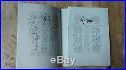 Calendrier du Journal des Demoiselles 1900, dessinateur Henri Caruchet, Art déco