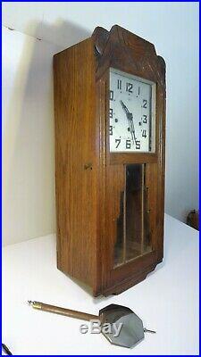 Carillon Horloge Pendule Odo Art Deco N° 36 8 Tiges 8 Marteaux