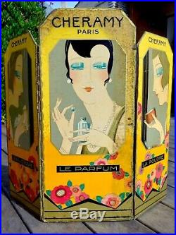 Cheramy Rare Triptyque Art Deco 1930. Paris