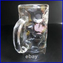 Chope verre bière 1L CERVEJA Super Bock SABOR AUTENTICO Art Déco Espagne N6229
