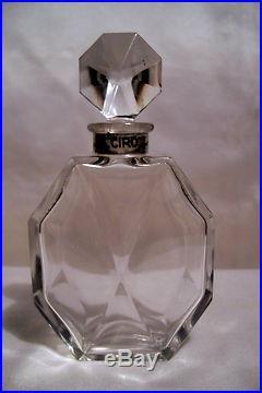 Ciro Danger Baccarat Flacon Parfum 10cm Art-deco 1931 Vintage Perfume Bottle