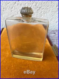 Coffret COTY PARIS art deco 1923 perfume bottle. BACCARAT