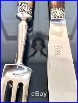 Coffret de couteaux de table Art Déco, Couvert Gigot Affuteur Service Ménagère