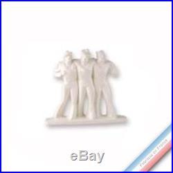 Collection ART DECO 1920 Trois marins déco H35 x L32 cm Lot de 1