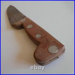 Couteau cuisine chasse vintage art déco 1930 table maison nature jardin N5033