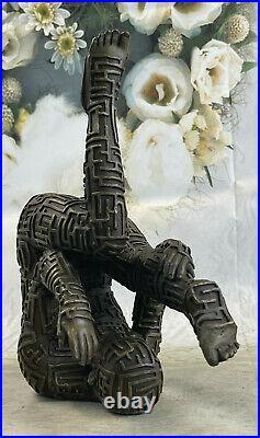 De Collection Bronze Sculpture Statue Art Déco Rare Salvador Dali Mâle