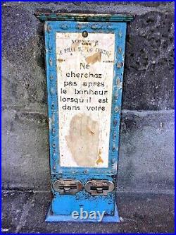 Distributeur de cartons Prédictions Avenir Divinatoire. À monnayeur