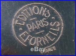 EDOUARD FORNELLS boite à poudre bakélite art déco Flacon de parfum Lalique Paris