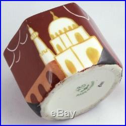 ENCRIER Rare ORIENTALISTE Porcelaine HENRI DELCOURT Art Deco 1930/robj/limoges