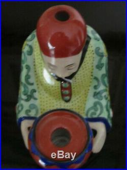 Encrier Porte Plume En Porcelaine De Limoges Epoque Art Deco