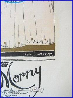 Essence Mystérieuse parfum De Morny pub Art-déco Gazette Bon Ton F. Lorioux