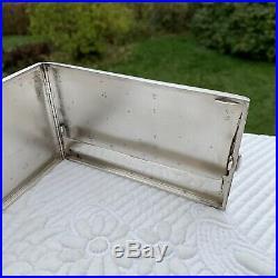 Étui à cigarettes Art Deco Argent Massif Hénin et Compagnie Antique Silver case