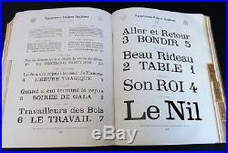 Fonderie Typographique Francaise Rare Catalogue Typographie Imprimerie Art Deco