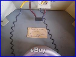 HORLOGE BRILLIE CIRCA 50's / art deco industrielle gare usine / ELECTRIC CLOCK
