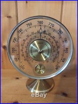 JAEGER Baromètre Thermomètre Altimètre Année 1950 Vintage / Rétro Art Déco