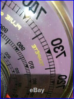 JAEGER Baromètre Thermomètre Année 1950 Vintage / Rétro Art Déco