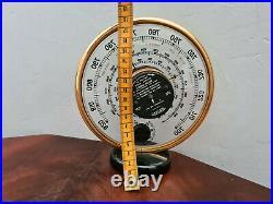 JAEGER Baromètre de luxe Thermomètre Année 1950 Art Déco 7AB